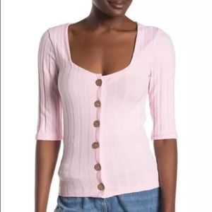Free People Central Park Cardigan Top